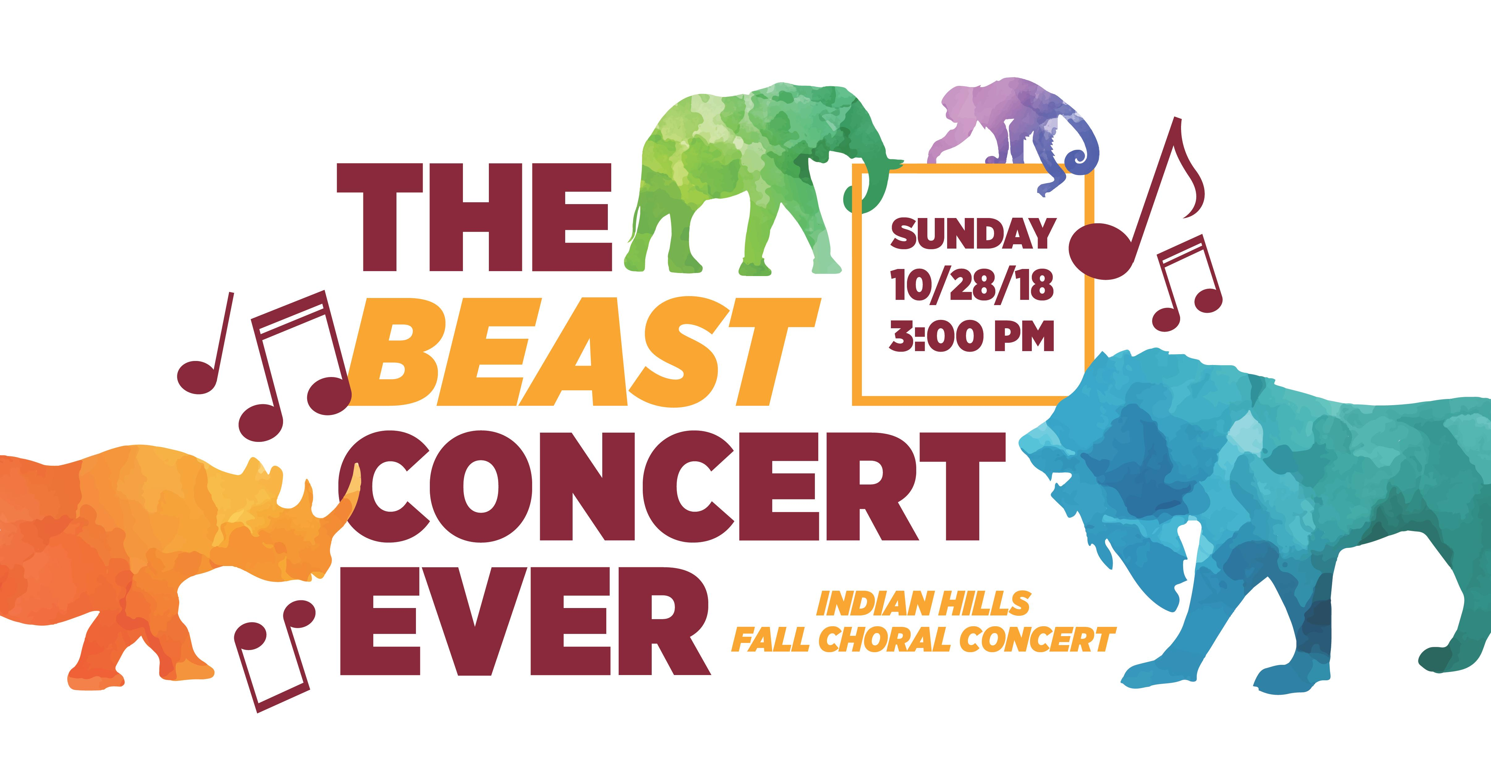 The Beast Concert Ever
