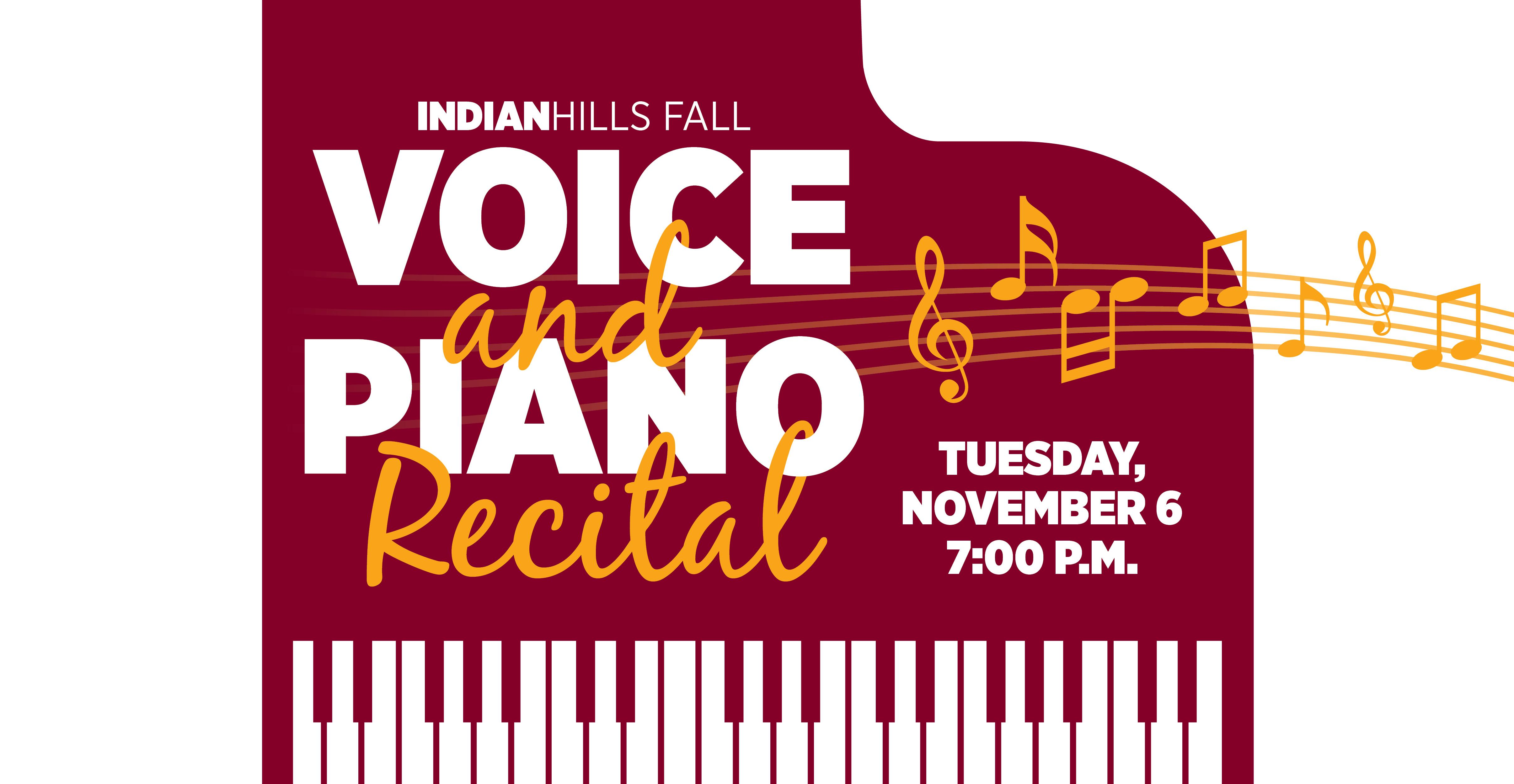 Fall Voice and Piano Recital