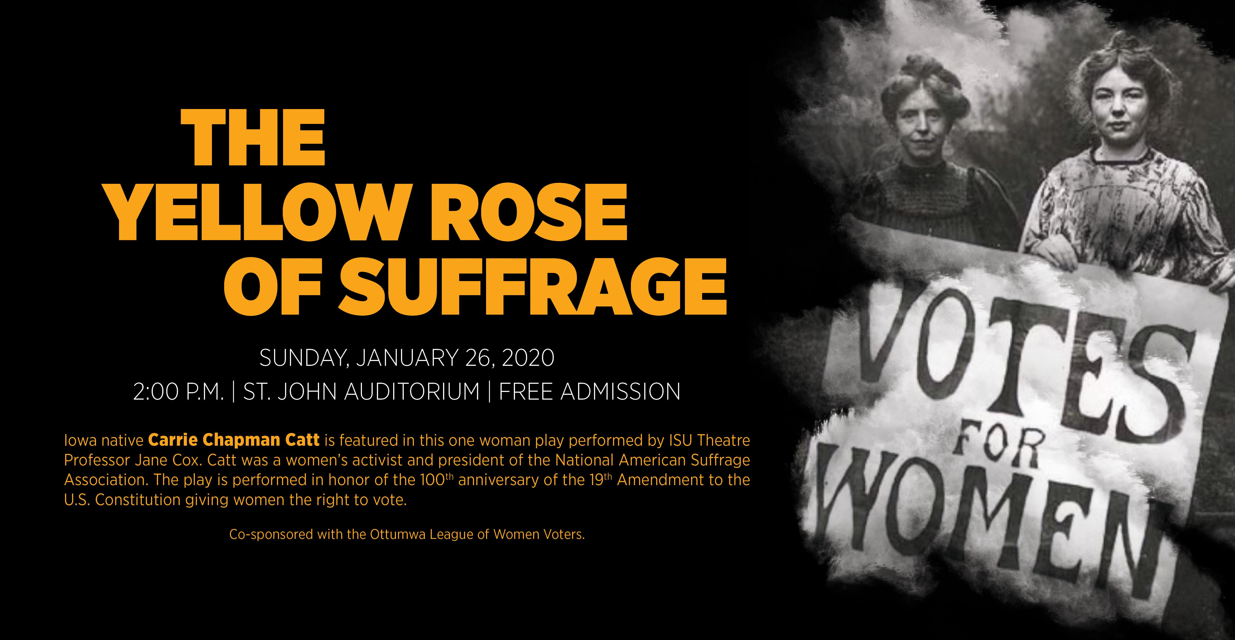 Yellow Rose of Suffrage