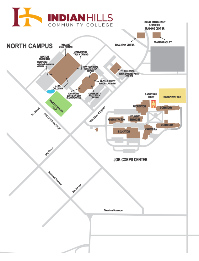 North Campus Map