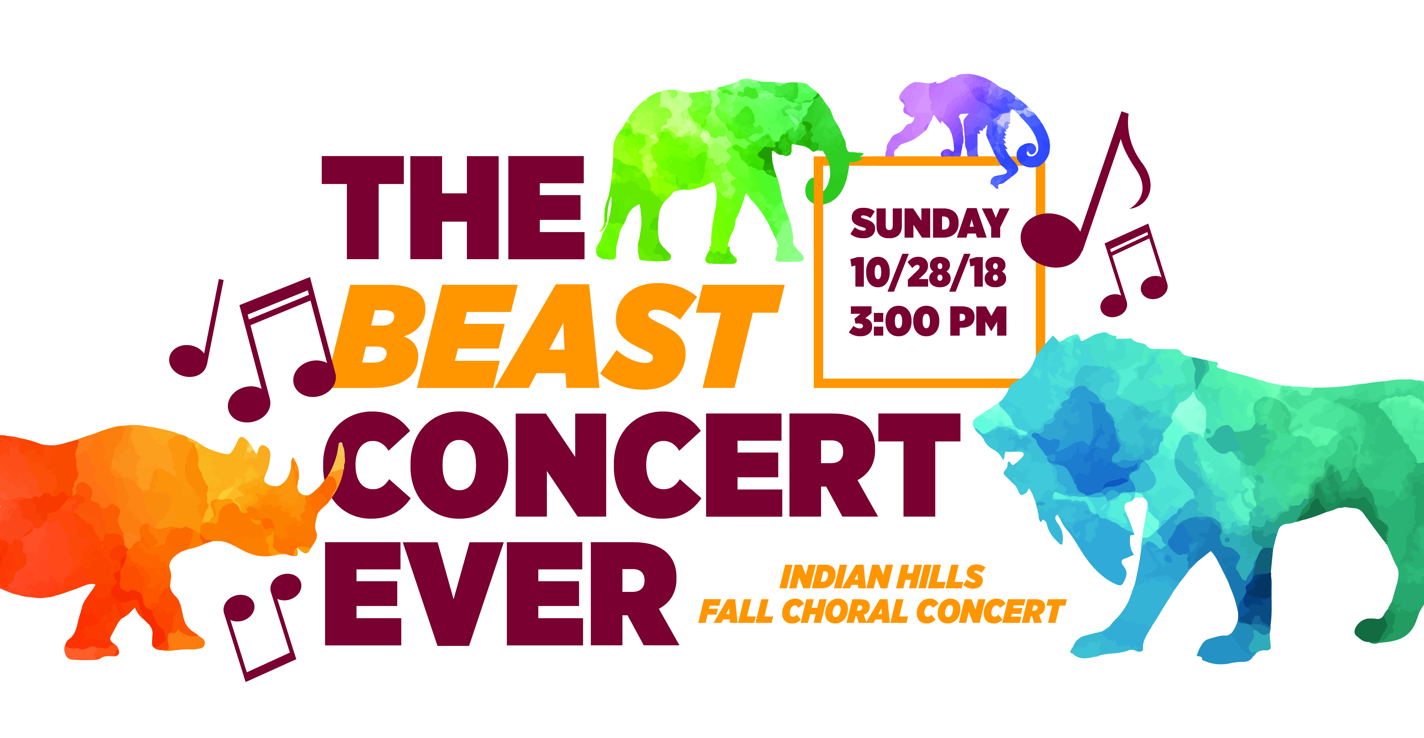 Fall Choral Concert: The Beast Show Ever