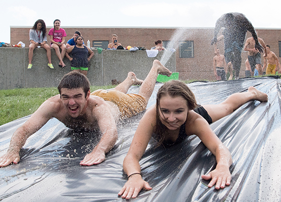 Latest News - Slip and Slide, Welcome Week