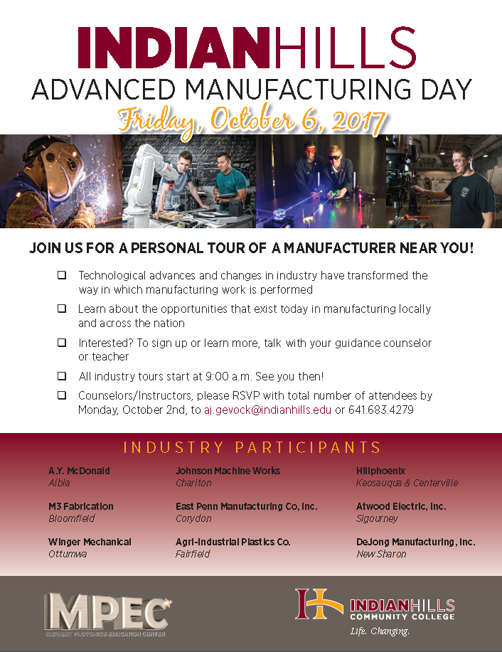 Advanced Manufacturing Day Poster