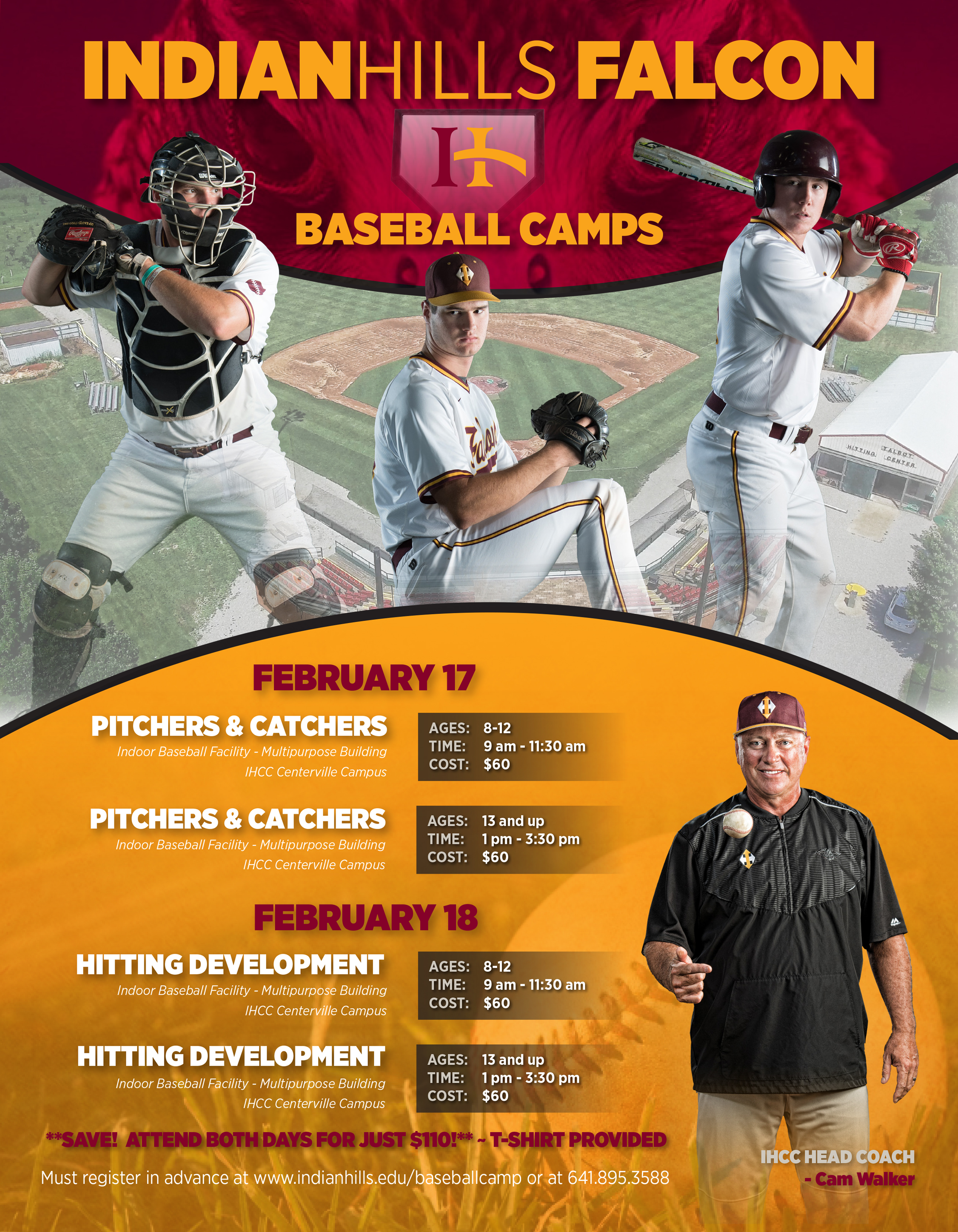 Indian Hills Falcon Baseball Camp