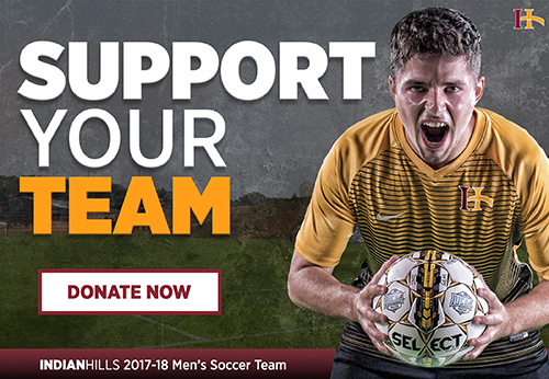 Men's Soccer Donation Campaign