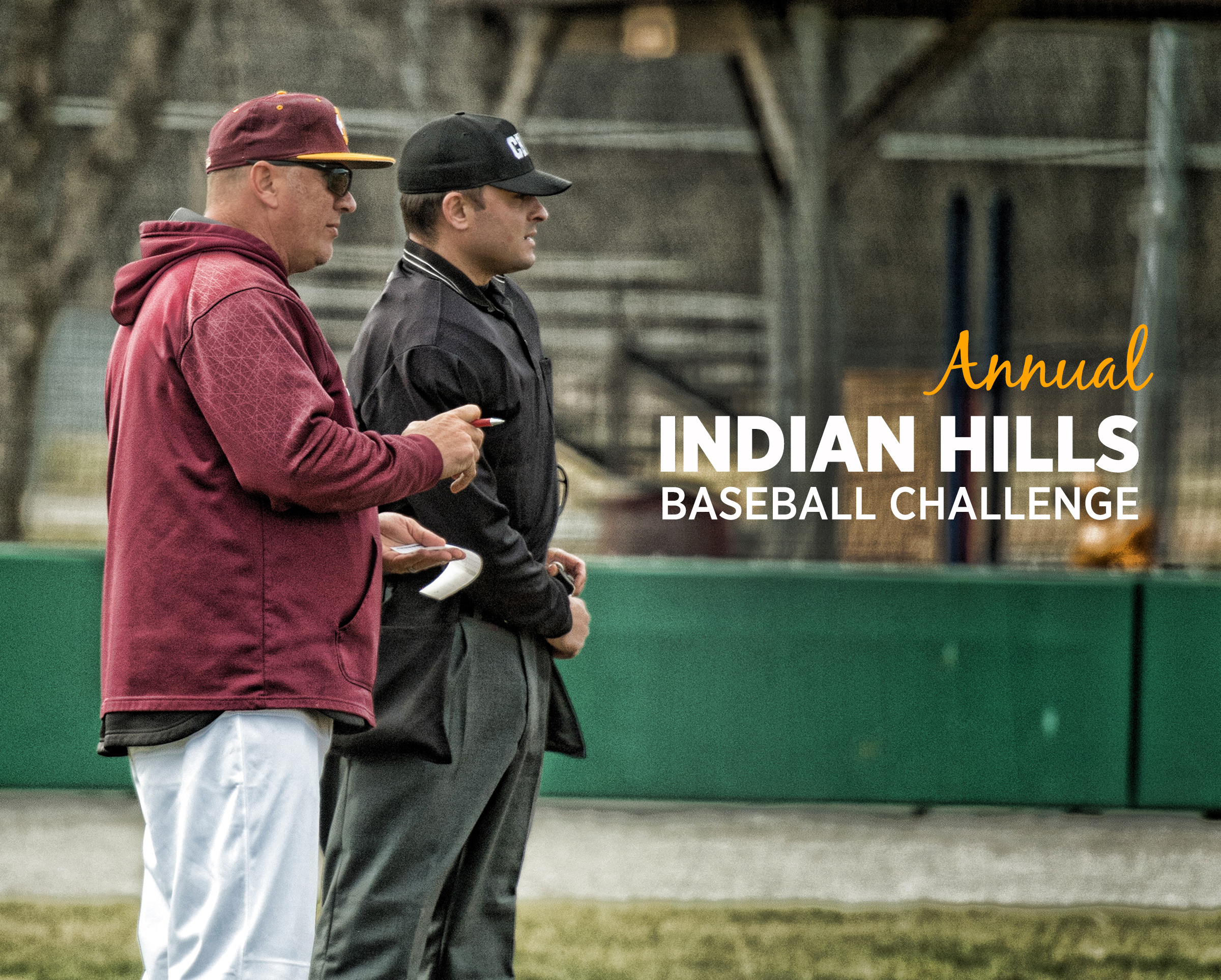 Show the Indian Hills Baseball Team your support!! We are currently conducting our Annual Indian Hills Community College Baseball Challenge to help generate financial support for our program. Our team spends many long hours preparing to be the best we can be and would greatly appreciate your support. 100% of your donation will go to helping our team achieve our goals. Every little bit helps! Donate Now!