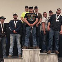 The second-year Cardinal Welding Academy students won First Place at the state Skills USA Welding Competition.