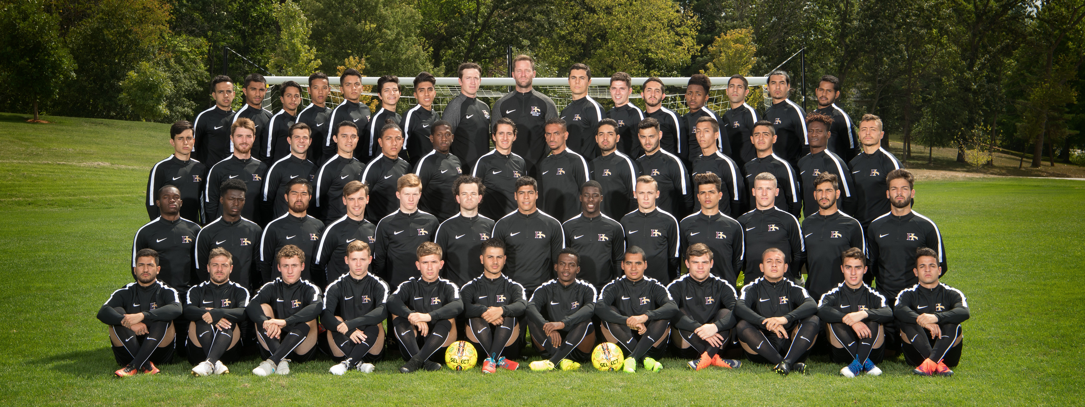 IHCC 2017-18 Men's Soccer Team Photo
