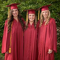 Student Graduates on Main Campus