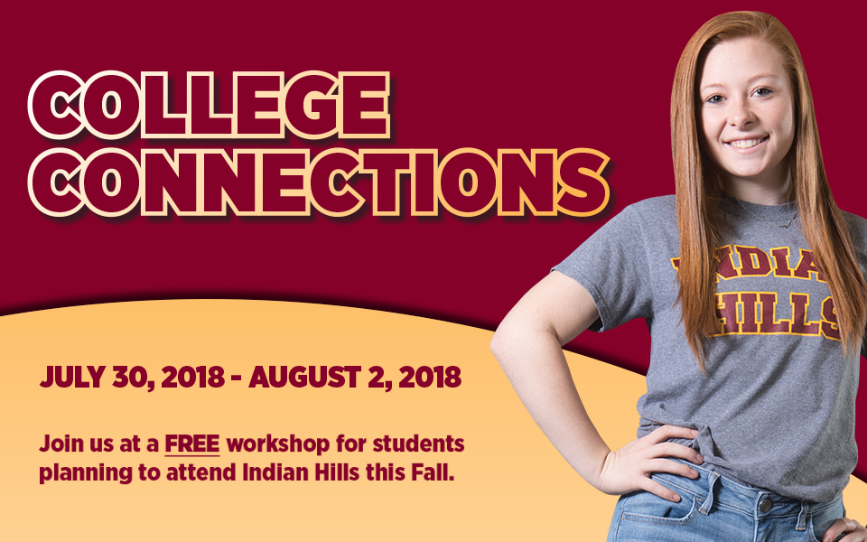 College Connections flyer