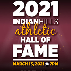 Indian Hills Community College will honor the 1996-97, 1997-98, and 1998-99 National Champion Basketball Teams in a virtual Hall of Fame Induction Ceremony this Saturday, February 13, 2021, at 7 p.m., on GoHillsTV.