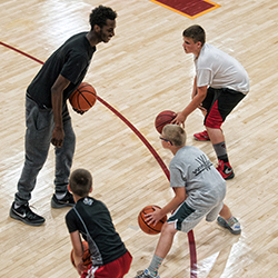 IHCC basketball coaching staff will hold the annual summer youth camp July 16-19 at the Hellyer Center.