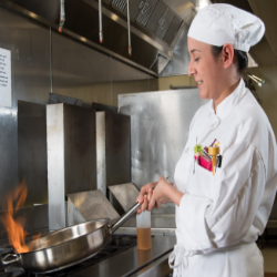 Although it has been known by a number of different names through the years, Indian Hills Community College continues to offer an academic program that provides students with the fundamentals to prepare them for jobs in a variety of food service areas.