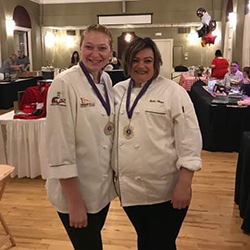 Both Tori and Balba are in their 4th term in the Culinary Arts Program. The Divas Who Dish is a event that helps support the Ottumwa Symphony.
